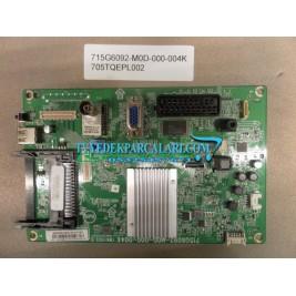 715G6092-M0D-000-004K , 705TQEPL002 , 22PFL4109 MAİN BOARD